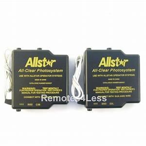 Allister Access 3000 Garage Door Opener Remote