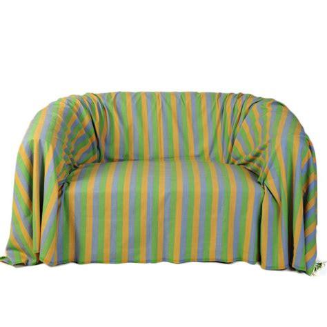 jetee canape jeté de canapé dimension 2x3m 100 coton d2