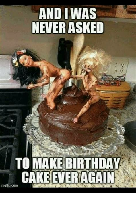 Cake Meme And Iwas Never Asked To Make Birthday Cake Again