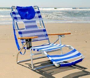 amazon com ostrich 3 n 1 beach chair blue white stripe