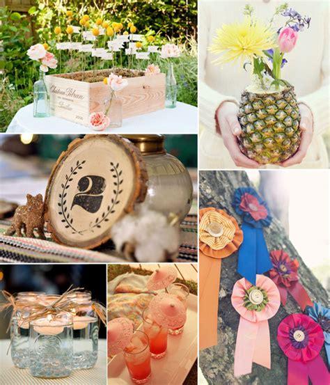 diy summer wedding decoration ideas summer rural rustic themed weddings for 2014 tulle chantilly wedding blog