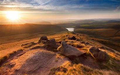 Landscape England Hayfield Wallpapers Retina 1800 2880