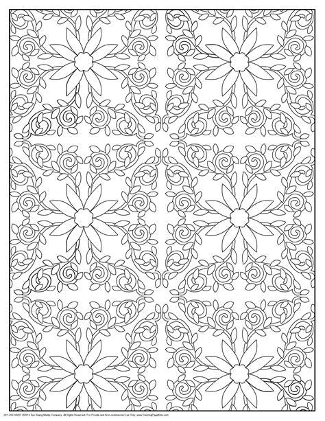 pattern coloring pages coloringsuitecom