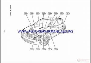 Renault Megane Ii X84 Nt8392 Disk Wiring Diagrams Manual
