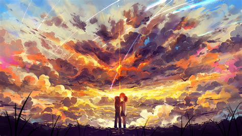 Hd Anime Scenery Wallpaper Kimi No Na Wa Your Name Wallpaper Hd Free Download