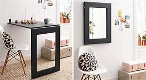 Tisch Für Kleine Küche : anleitung klapptisch mit integriertem spiegel bauen diy info ~ Bigdaddyawards.com Haus und Dekorationen