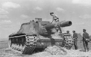 ISU-152 tank destroyer - destroyed | ww2 | Pinterest