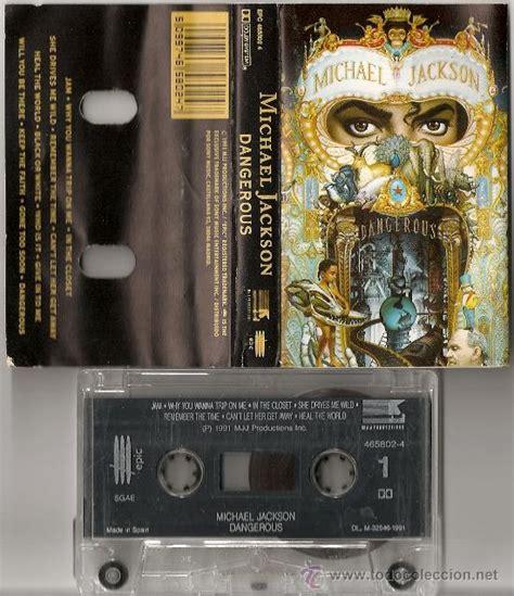 Michael Jackson Dangerous Cassette by Michael Jackson Dangerous Cassette Espa 241 Ol Comprar