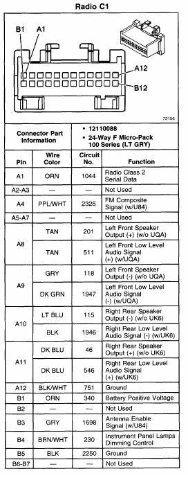 1998 Gmc Radio Wiring Diagram 26715 Archivolepe Es