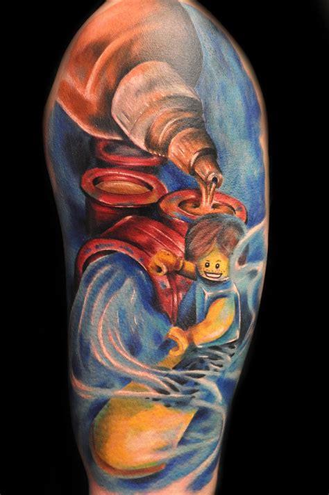 colorful tattoo  max pniewski design  tattoosdesign