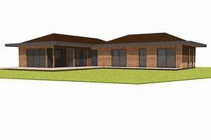 maison ossature bois plain pied mzaolcom With amazing modele de maison en u 4 habitat performance construction maisons ossature bois