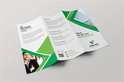 Brochure Fold Tri Professional Template Athena Brochures