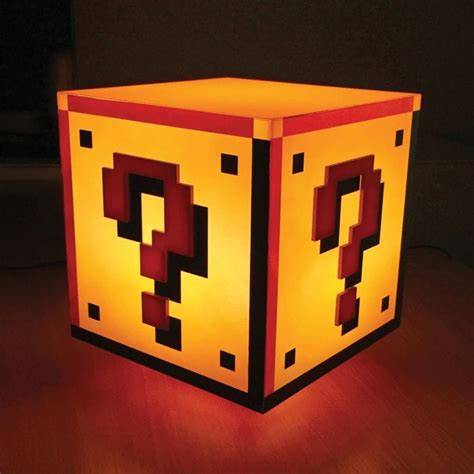 super mario bros question block light find me a gift
