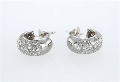 Tiffany And Co. Diamond Platinum Hoop Earrings For Sale At 1stdibs Flower Jewelry Earrings Selling Silpada Reviews Kitten Boutique And Piercing Fashion Jewellery Combo Online Best Flowers Into Uk To Names