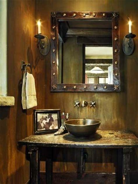 Rustic Half Bath Decorating Ideas by 25 Best Ideas About Rustic Powder Room On