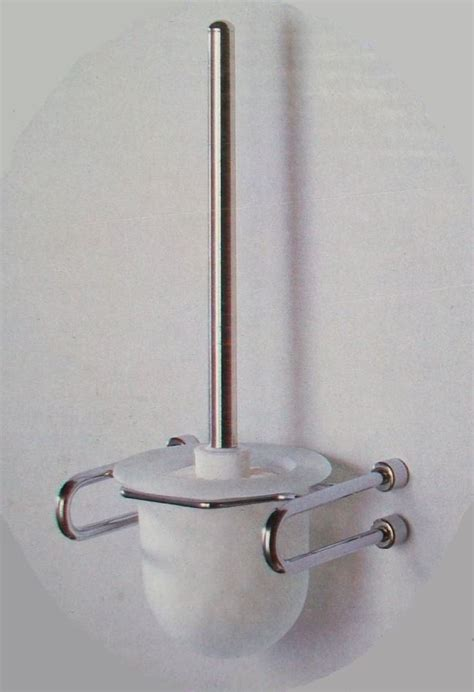 Mercury Glass Bathroom Accessories Uk by Metlex Mercury Frosted Glass And Chrome Toilet Brush