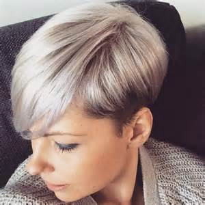 2017 Short Hairstyles Grey Hair