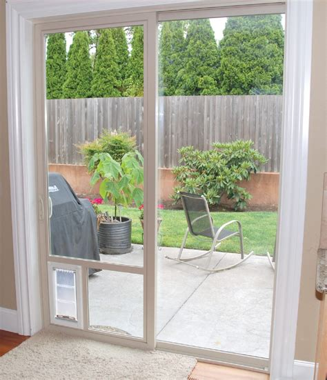 Pet Door For Patio And Sliding Doors - best door for sliding glass doors in utah adv windows