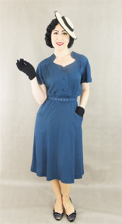 dress darla rayon 1930s day dresses afternoon dresses history