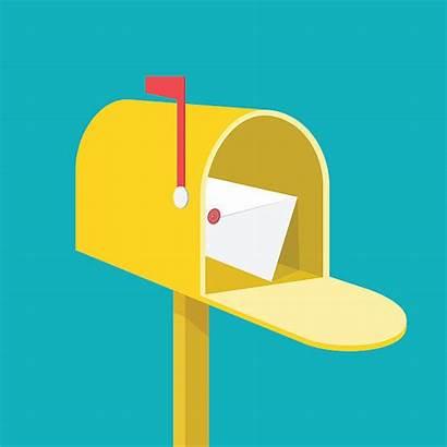 Mail Box Mailbox Vector Illustration Mailing Clip