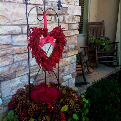 charming valentines day outdoor decorations