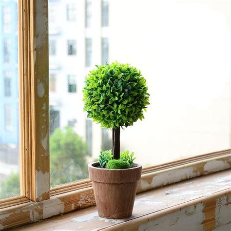 ต้นไม้ปลอมในกระถางสูง+29CM+พร้อมมอสปลอมและต้นไม้เล็กตกแต่ง ...