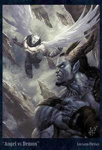 Angel VS Demon by demitrybelmont on DeviantArt