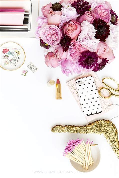 pink and gold desk accessories pinterest the world s catalog of ideas