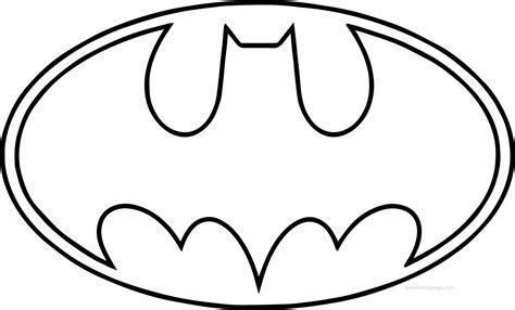Batman Symbol Coloring Pages Murderthestout