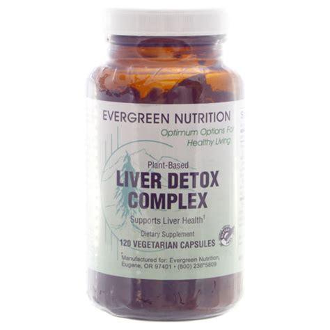 liver detox complex evergreen nutrition
