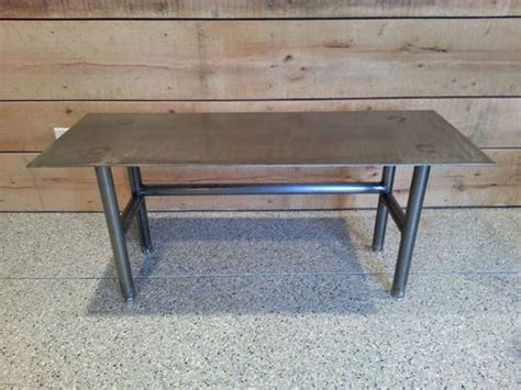 Hand Made Steel Top Coffee Table With Steel Tube Legs By Animal Coffee Puns Pocket Kaufland Hanno Glutine Meaning Behind Starfish And Hole Table Rook Headquarters Asbury Park In Nj