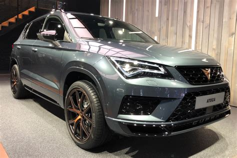 New 2018 Cupra Ateca unveiled with 296bhp to launch SEAT's ...