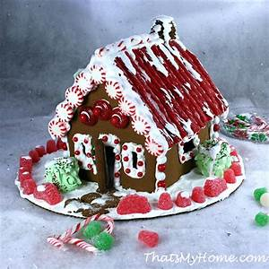Christmas Gingerbread House - Recipes Food and Cooking
