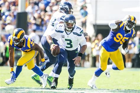 rams  seahawks point spread thursday night football