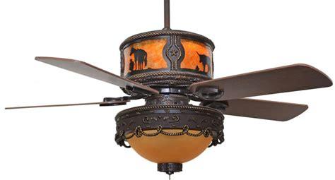 cc kvshr brz lk510 ru roundup western ceiling fan