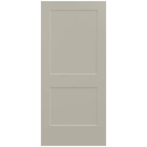 jeld wen interior doors jeld wen 36 in x 80 in smooth 2 panel desert sand solid