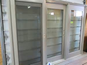 peachtree 9 foot fiberglass sliding patio door with hardware