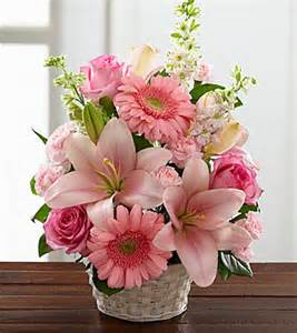 bouquet of lilies ftd whispering arrangement sympathy flowers