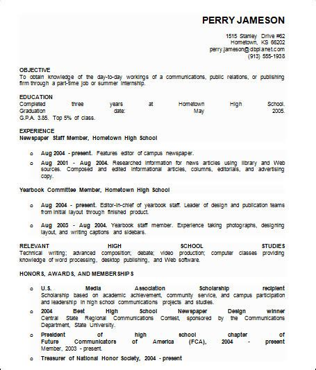 sample basic resume  documents  word