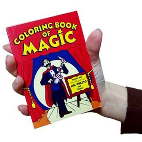 pocket size magic coloring book trick fast shipping