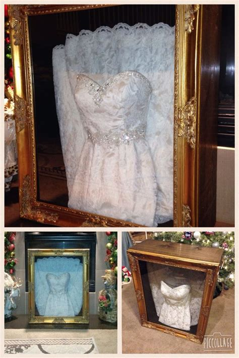wedding dress shadow box for under 150 my wife and i