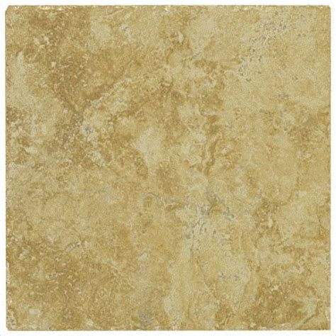piazza 13 quot ceramic tile in gold