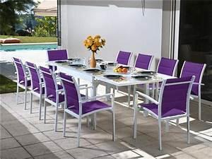 Chaise Salon De Jardin Pas Cher : table et chaise de jardin solde menuiserie ~ Teatrodelosmanantiales.com Idées de Décoration