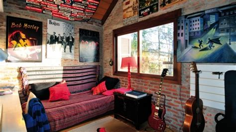 15 Interesting Music Themed Bedrooms  Home Design Lover