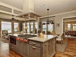 kitchen islands wood 23 reclaimed wood kitchen islands pictures designing idea