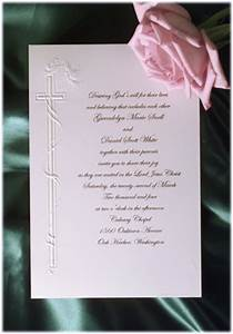 wedding invitation wording wedding invitation wording With christian wording for wedding invitations from bride and groom