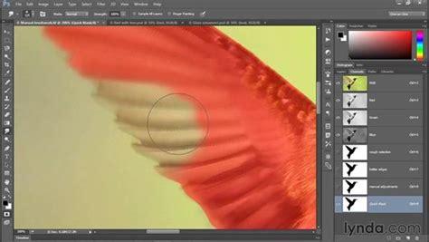 adding motion blur   smudge tool