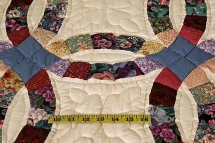 wedding ring quilts for sale double wedding ring multicolor amish quilt for sale for the