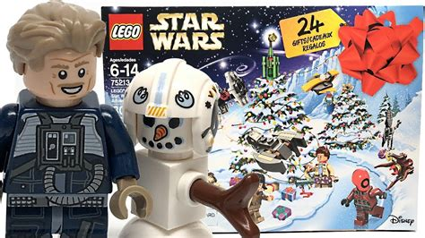 lego star wars advent calendar review unboxing youtube