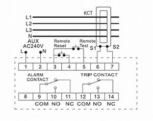 Klr733 Protection Relay   Reclosing Earth Leakage Relay Operating Time 15ms Max